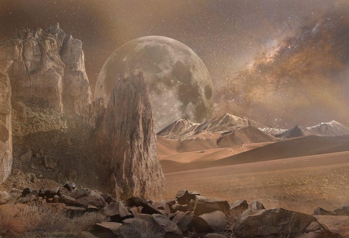 Mars Staubsturm kann zu neuen Wetterfunden führen